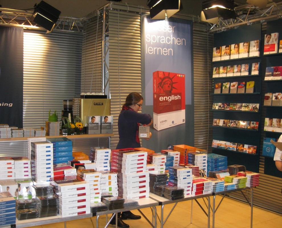 Imagebild auf der Frankfurter Buchmesse